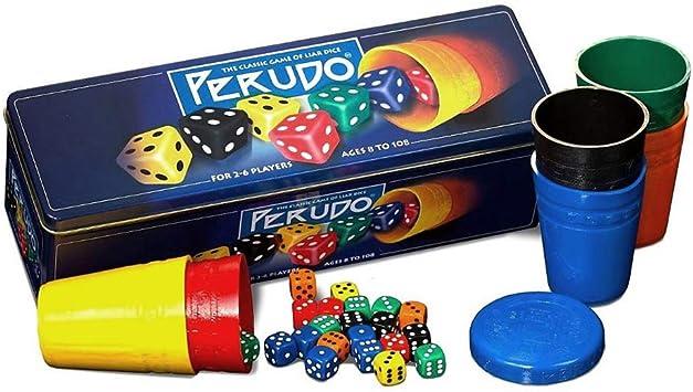 Paul Lamond Perudo - Juego Perudo en Lata: Amazon.es: Juguetes y juegos