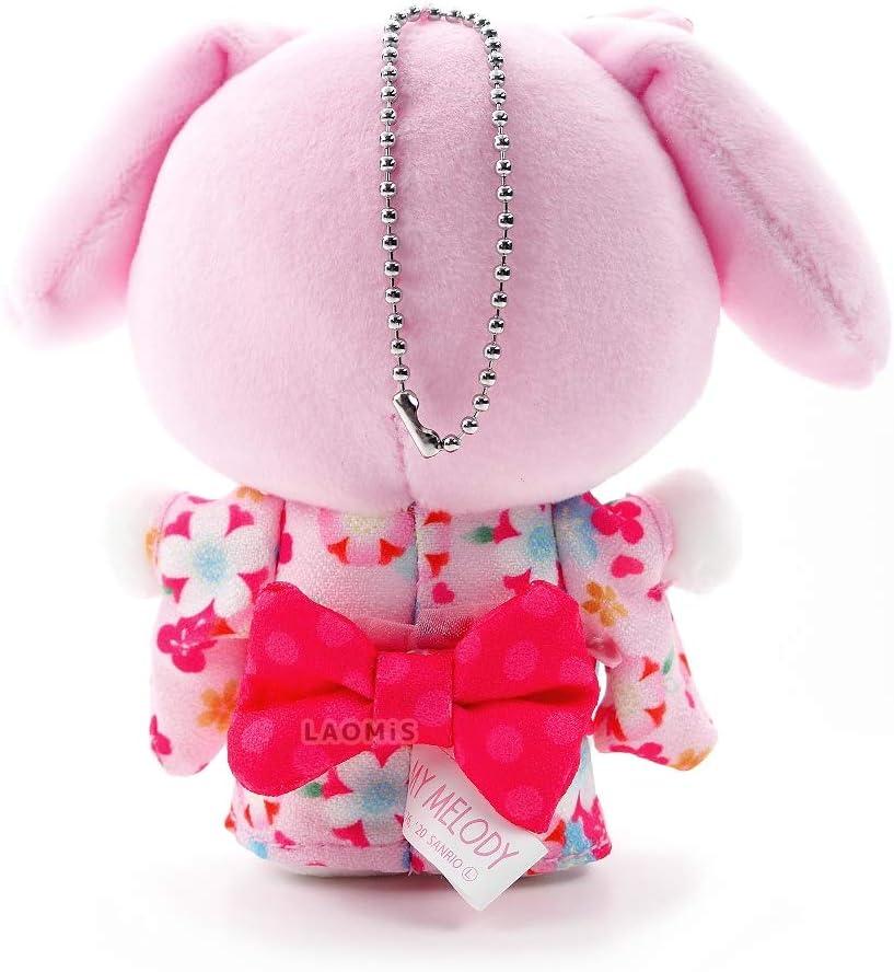 Sanrio Kimono Plush Keychain 57334 Cinnamoroll