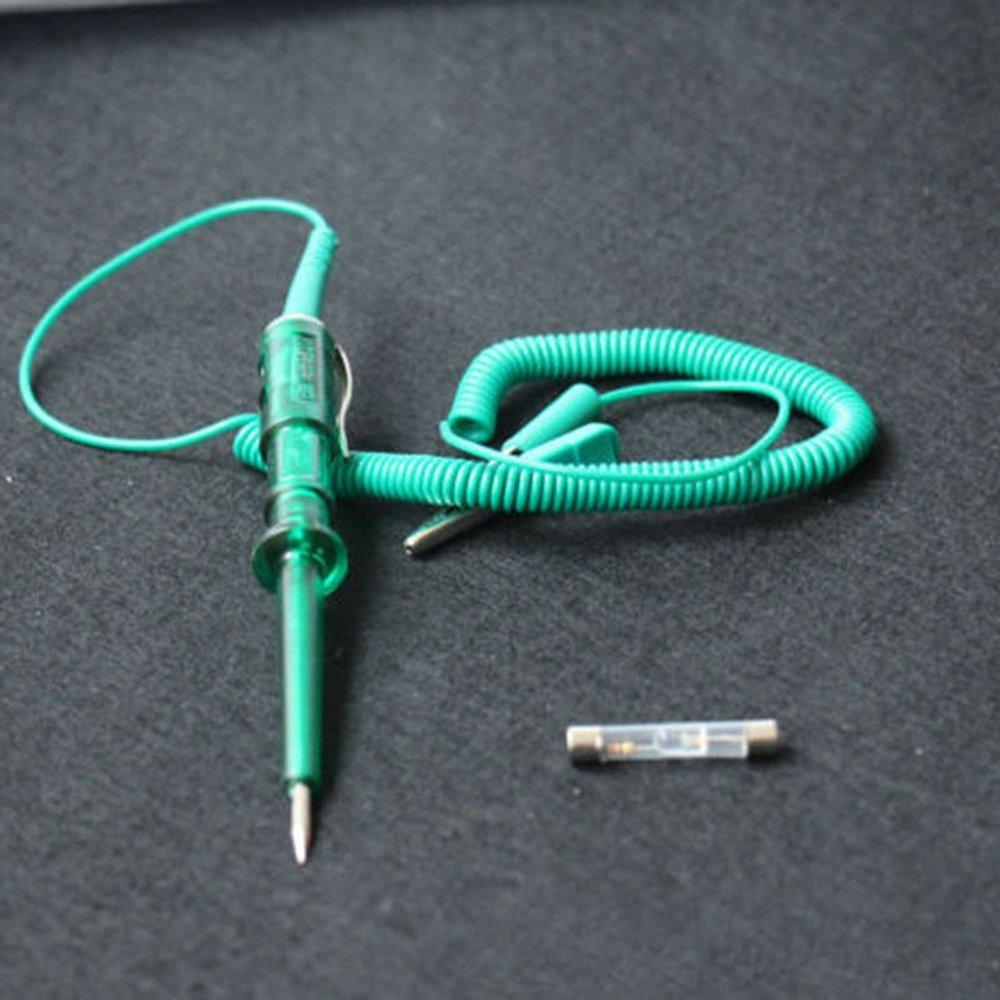 GAOHOU DC 6V//12V//24V Lampe Témoin Test Continuité Circuit Tension Testeur Fusible Pour Auto Moto