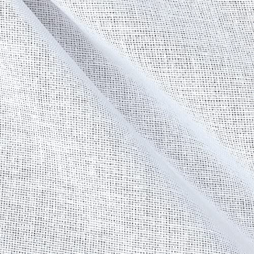 James Thompson 25`` Buckram Fabric White Fabric by The Yard / James Thompson 25`` Buckram Fabric White Fabric by The Yard