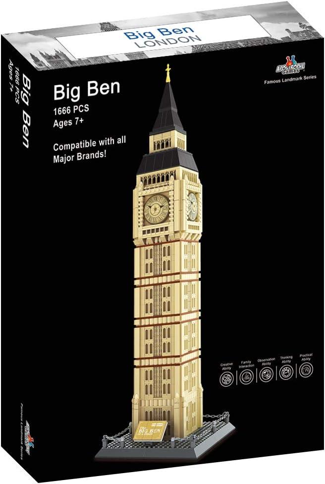 1380 Pieces Apostrophe Games Notre-Dame Cathedral Building Block Set