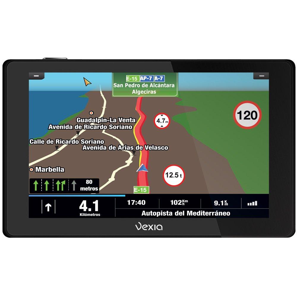 Vexia 575 Video Truck Europe - Navegador GPS, pantalla de 5 ...