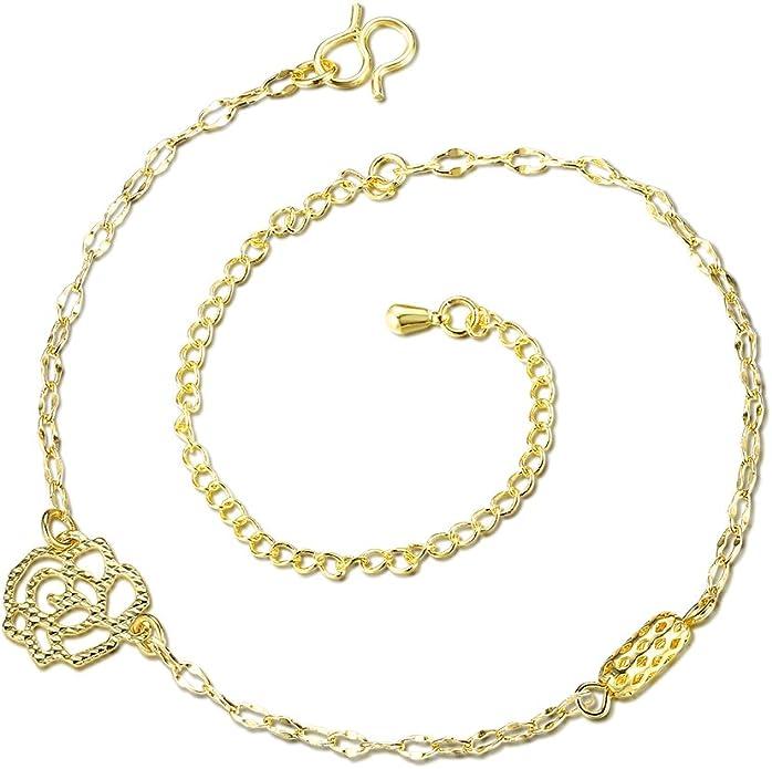 Charme /ét/é Plage chevill/ère chevill/ère Bracelet Sp/éciale Sandales Plage de Pied YXYP chevill/ère Bracelet pour Femme Fashion Bracelet de Cheville