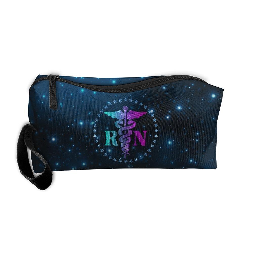 Sacred Nurse Gift With Pentagram Travel Toiletry Bag Shaving Kit Handbag Organizer