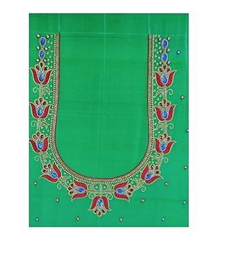 Vijaylaksmi Maggam Designs Women S Silk Blouse Piece