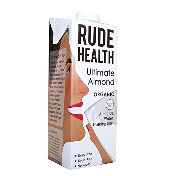 Rude Health Foods | Ultimate Almond Milk - Organic | 5 x 1l