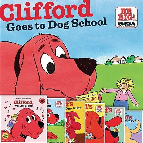 Clifford the Big Red Dog 12 Book Set Includes Goes to Dog School; Takes a Trip; Big Red Dog; We Love You; Birthday Party; Christmas; Day with Dad; Family; Halloween; Happy Easter; Clifford's Happy Mother's Day; and Clifford's Thanksgiving Day Visit. (Clifford The Big Red Dog Halloween Book)