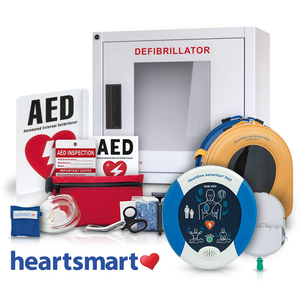 Heartsmart's AED for Business Defibrillator Package Heartsmart.com