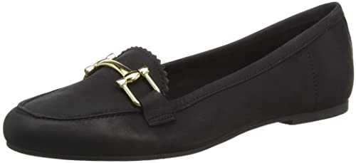 New Look Jarry Trim, Mocasines Mujer, Black (black/01), 36 EU: Amazon.es: Zapatos y complementos
