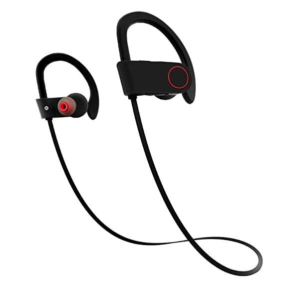 d9c9a34743d Bluetooth Headphones, Firstop Wireless Earbuds, Best Noise Cancelling  Sports Handsfree Earphone with Mic,