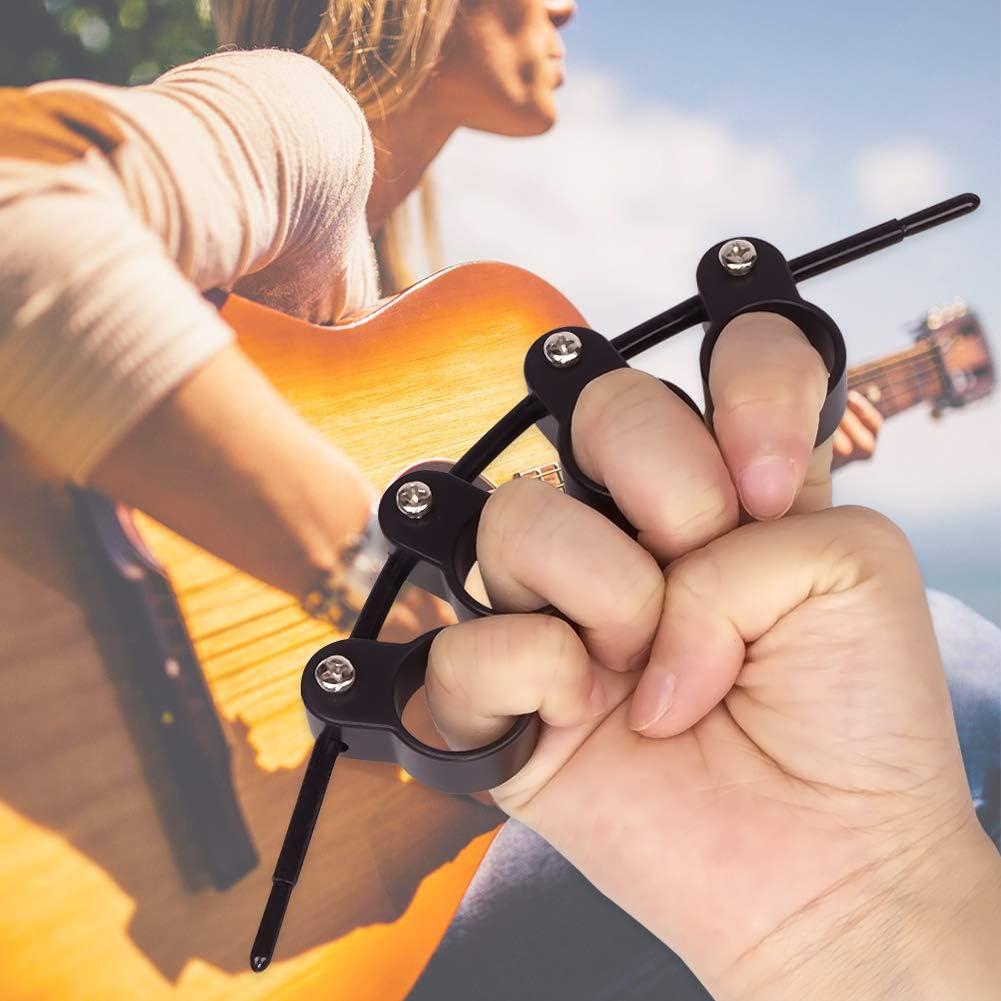 Plastic Finger Extensor Finger Stretcher Exerciser Expansion for Guitar Piano Ukuleles Bass Banjos Beginner Mandolins Finger Trainer NouveLife Guitar Finger Expander