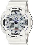 [カシオ]CASIO Gショック G-SHOCK STANDARD ホワイト×ミラー 腕時計 アナデジ GA-100A-7A メンズ [並行輸入品]