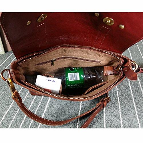 24c4e9b901bb2 ... DJB  Überqueren Sie schräg Handtasche Schultertasche Tasche retro  Messenger Leder Wildleder Leder Umhängetasche
