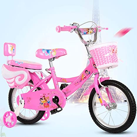 MLSH Bicicleta for niños con Ruedas de Entrenamiento, 12 14 16 18 ...