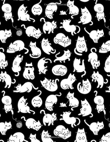 My Big Fat Bullet Journal For Cat Lovers Fun Cat Pattern 11: Jumbo Sized Dot Style Bullet Journal Notebook - 300 Plus Numbered Pages With 300 Dot Grid ... Journaling, Writing, Planning and Doodling.