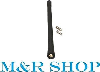 niversale nero originale ricambio AM//antenna FM antenna Antennino tettuccio a vite 6.5 cm pollici