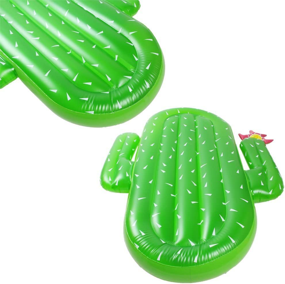 Amazon.com: funslane Cactus piscina flotador adulto inflable ...