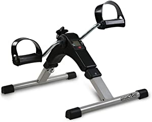ProActive Portable Stationary Digital Pedal Exerciser, with LCD Screen