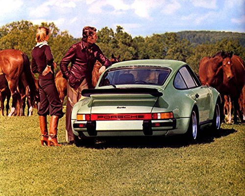 1976 Porsche 911 Carrera 3.0 930 Turbo Automobile Photo Poster