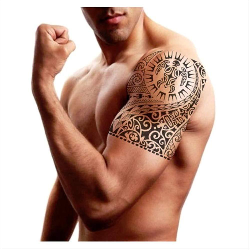 Tatuajes temporales maorí tortuga para hombre y mujer, tatuaje ...