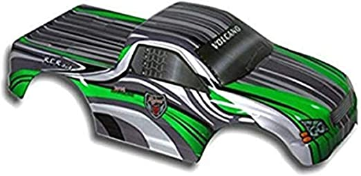 1//10 Scale Green//White Redcat Racing Road Car Body