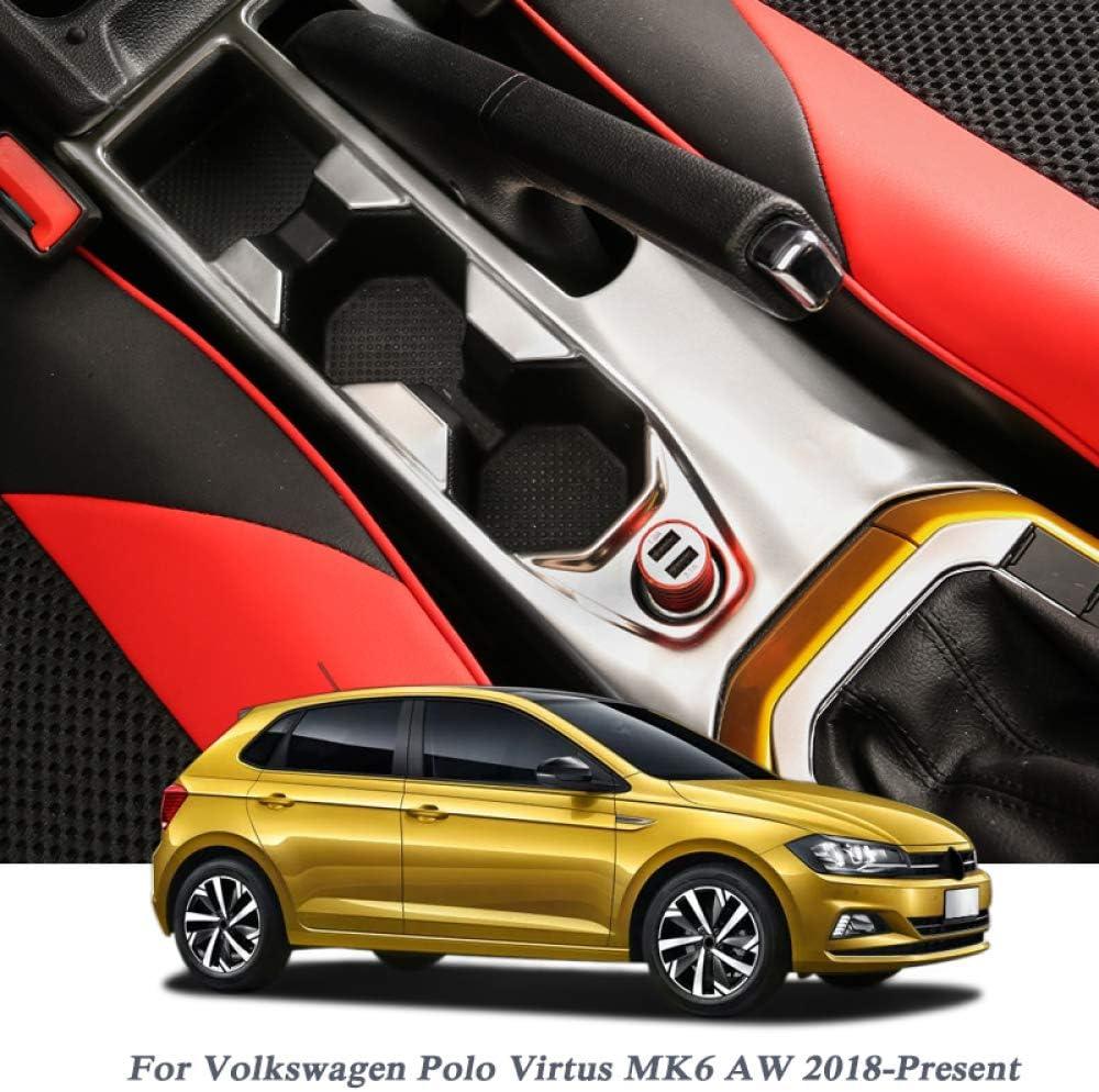 Gnnlor Para Volkswagen Polo Virtus MK6 AW 2018-2020, Marco de ...