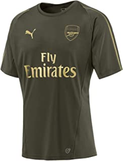 pretty nice e0e22 1f9b0 Amazon.com : PUMA 2017-2018 Arsenal Home SS Goalkeeper ...