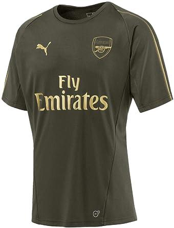 588ff45daac Amazon.com  PUMA Men s Arsenal Fc Training Jersey Ss  Clothing