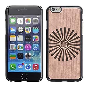 - / Japan Orient Star Flag Pinwheel - - Funda Delgada Cubierta Case Cover de Madera / FOR Apple iPhone 6 6S Plus 5.5 / Jordan Colourful Shop/
