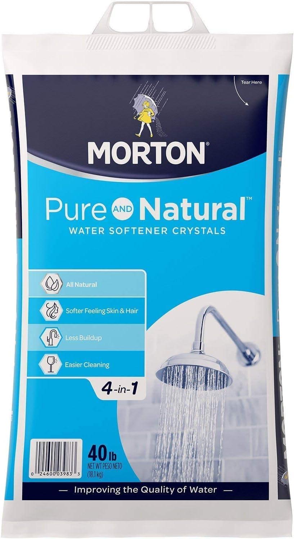Morton 40E Solar Salt Crystals