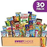Healthy Snacks Care Package (30 Count ) Ultimate Sampler Mixed Bars, Candy Snacks Box for Office, Meetings, Schools,Friends & Family, Military,College, Halloween , Snack Variety Pack Sweet Choice