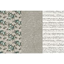 "Deco Art Decoupage Paper (3 Pack), 12"" by 16"", Victorian Romance"