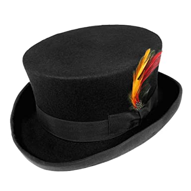 Jaxon   James Deadman Top Hat - Black  Amazon.co.uk  Clothing 7f3794784e56