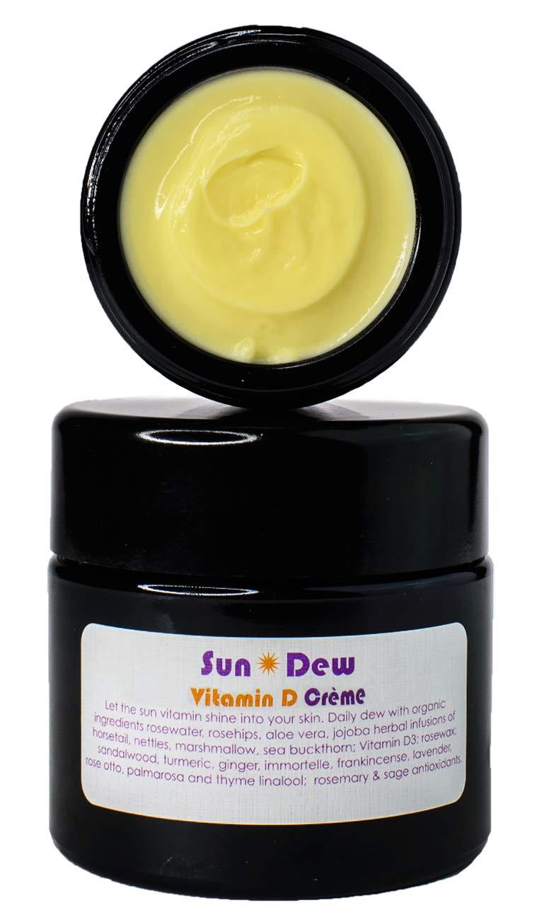 Living Libations - Organic/Wildcrafted SunDew Transdermal Vitamin D Creme (50 ml / 1.69 oz)