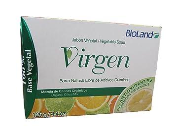 Amazon.com : Mix Organic Citrus Soap 125gr./ Jabòn Virgen Mezcla De Cìtricos 125g : Beauty