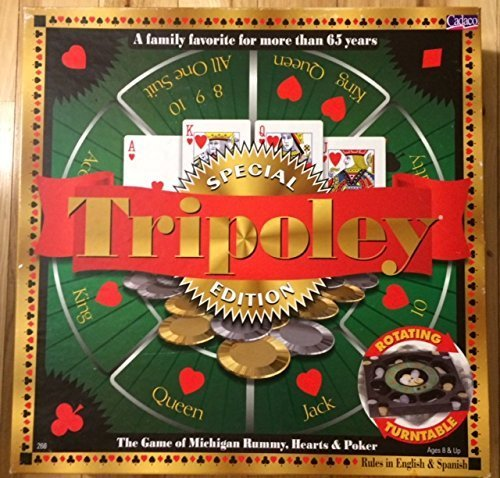 Tripoley Special Edition Board Game by Cadaco