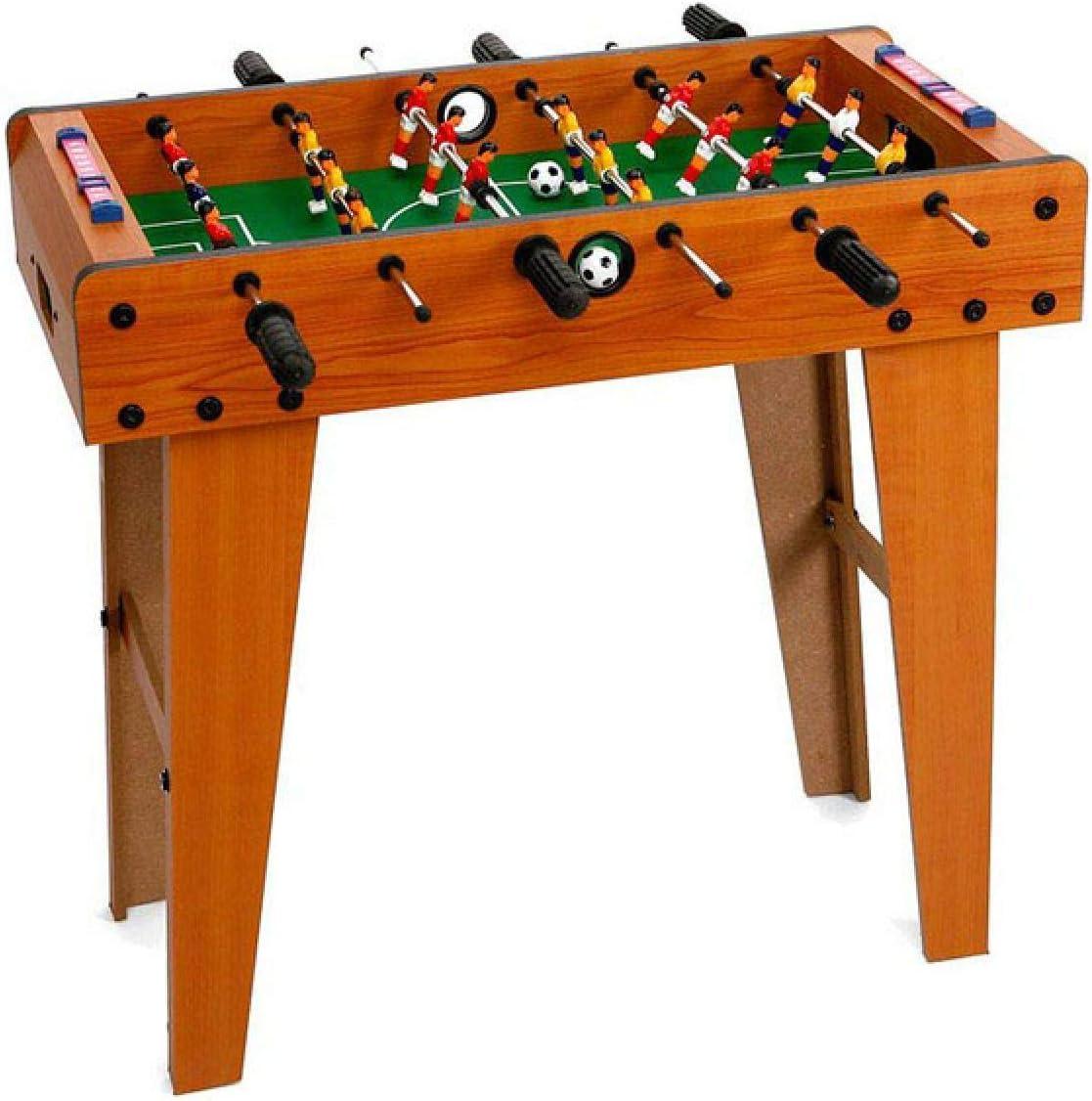 BigBuy Fun- Futbolin Madera (62 x 69 x 37 cm) (S1115865): Amazon ...