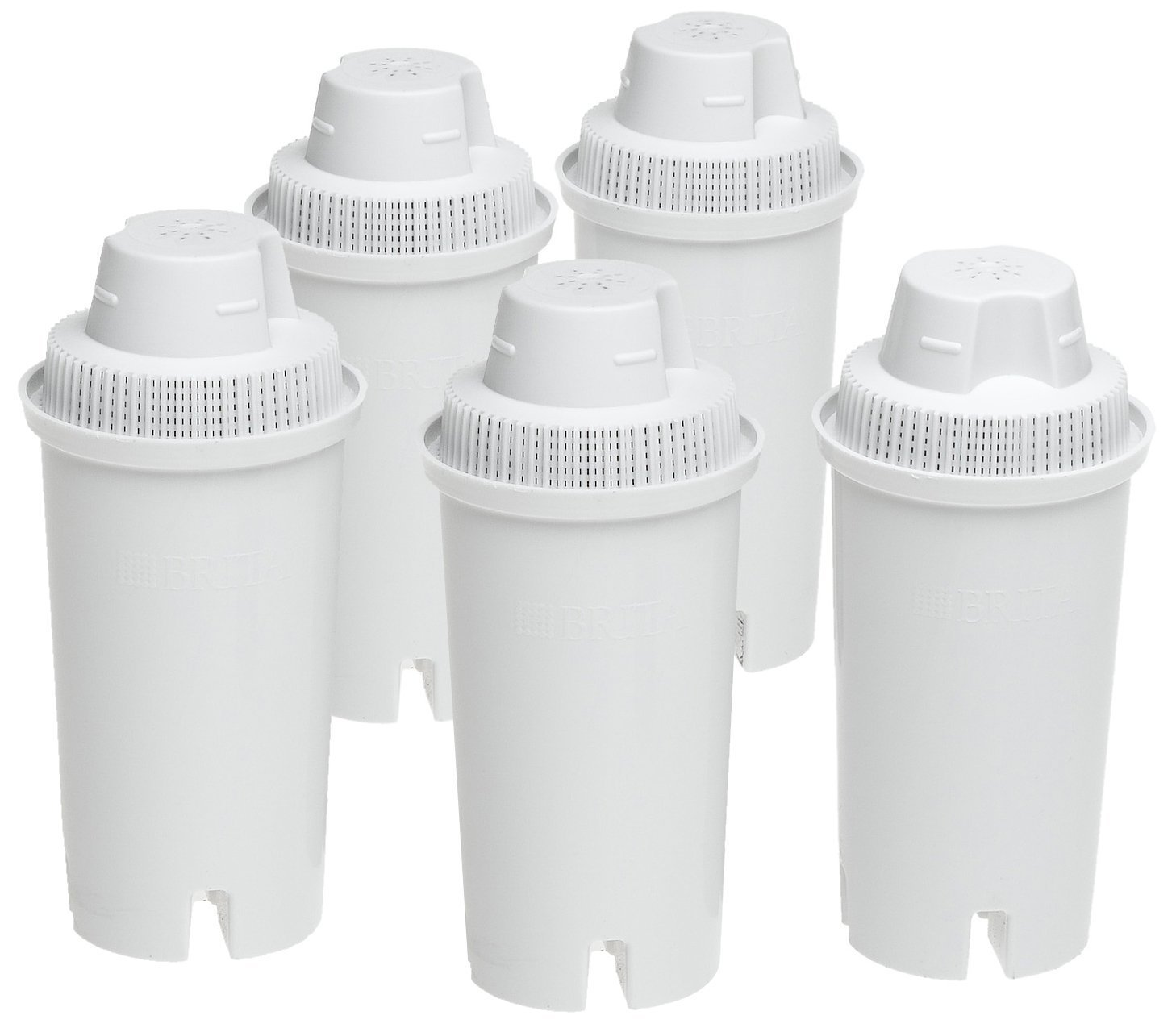 Brita Standard Replacement Filters for Pitchers and Dispensers - BPA Free - 5 Count by Brita (Image #2)