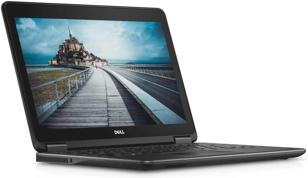 Dell Latitude E7240 Business Laptop, 12.5? HD Display, Intel Core i7-4600U, 8GB DDR3L RAM, 256GB SSD, Windows 10 Professional (Renewed)
