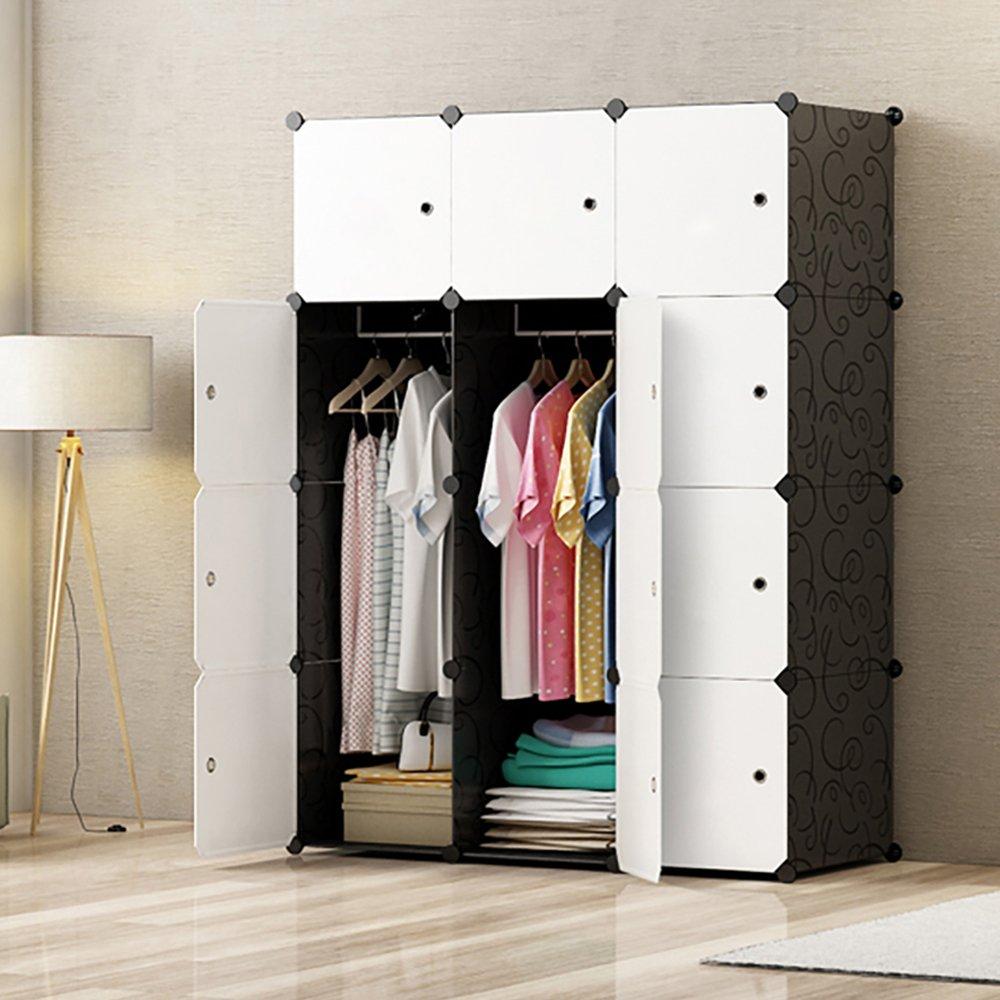 Premag diy portable wardrobe closet modular storage