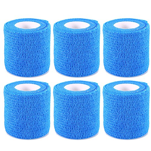 Self Adherent Wrap Cohesive Bandage Flexible Stretch Athletic Tape for Joint Injury 2