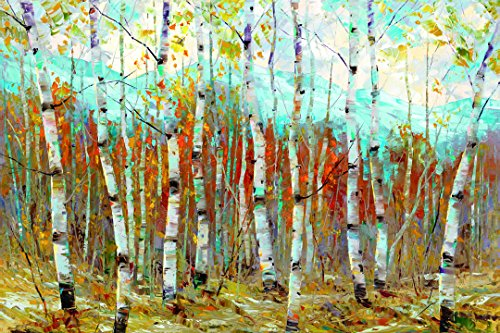 (Portfolio Canvas Decor Framed and Stretched Ready to Hang Aspen Chorus Canvas Wall Art by Dean Bradshaw, 24 x 36/Large)