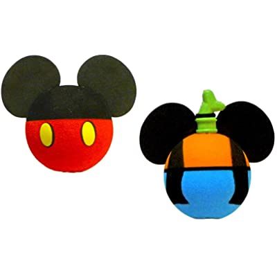 Mickey Mouse and Goofy Body Antenna Toppers: Automotive