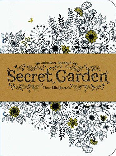 Secret Garden Johanna Basford - Secret Garden: Three Mini