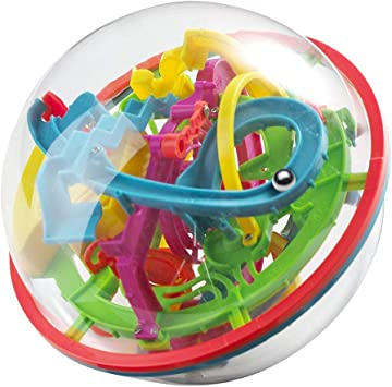 Juego De Rompecabezas Maze Ball 3D-3D Laberinto Bola 12cm Pelota Pasatiempos con Laberinto 4.7 Pulgadas Juegos De Educación Mágica Rompecabezas Intelecto Bola Laberinto para Niños Adultos: Amazon.es: Juguetes y juegos