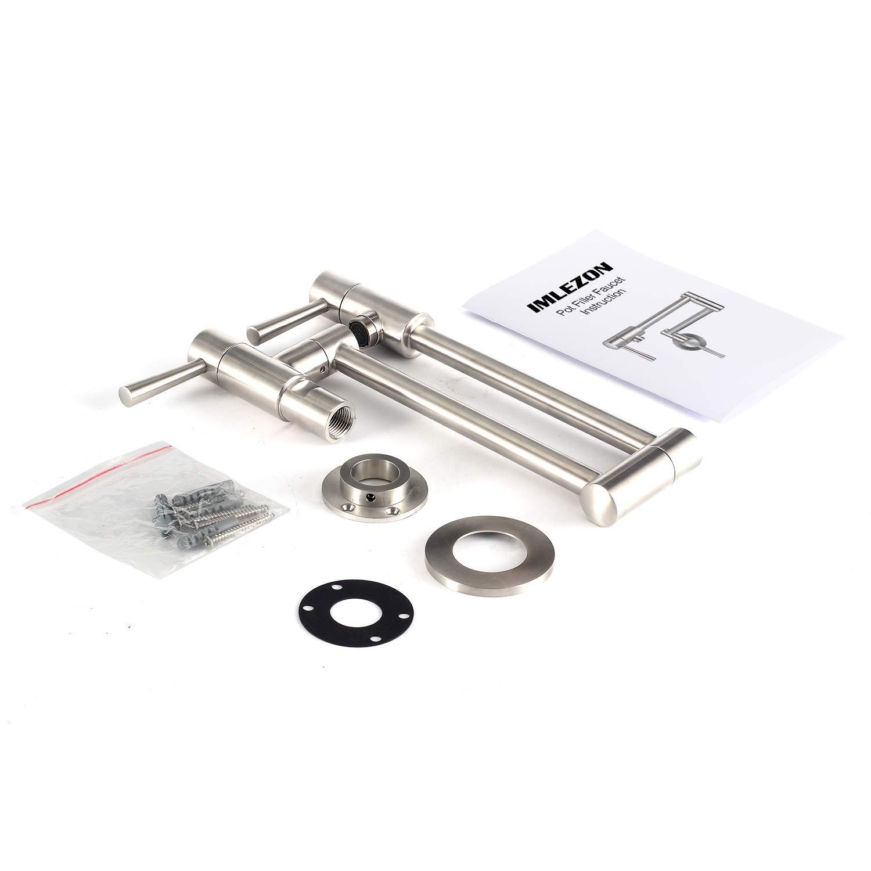 Amazon.com: IMLEZON - Grifo de acero inoxidable, IM-US-KH42 ...