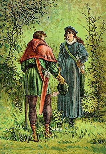 Buyenlarge Hood Robin (Buyenlarge Robin Hood and Maid Marian - Gallery Wrapped 28