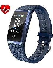 Willful Smartwatch Orologio Fitness Trakcer Donna Uomo Cardiofrequenzimetro da Polso Smart Watch Contapassi Android iOS Impermeabile IP68 Smartband Bambini Sportivo Bracciale per Xiaomi Huawei iPhone