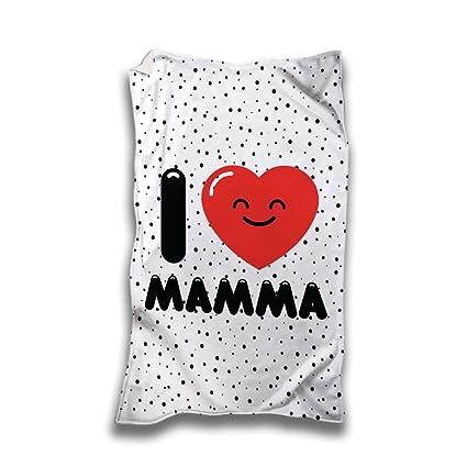 Toalla Playa Idea regalo día de la madre I corazón madre