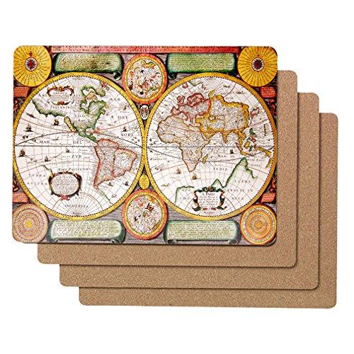 World Map Cork - 8